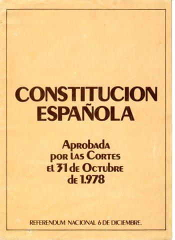Reflexiones sobre la construcción y la evolución de un modelo constitucional inacabado : la Constitución de 1978